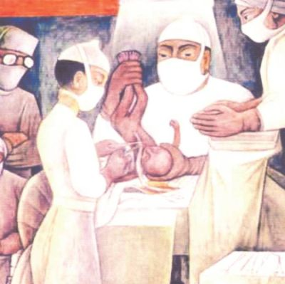 Diego Rivera - A régi és új orvoslás